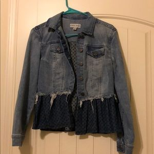 Denim jacket with a flare!
